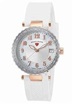 Swiss Legend Women's 16002SM-SR-02-WHT Sea Breeze Analog Display Swiss Quartz White Watch