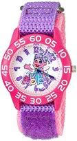 EWatchFactory Girl's 'Sesame Street' Quartz Plastic and Nylon Watch, Color:Purple (Model: W003195)