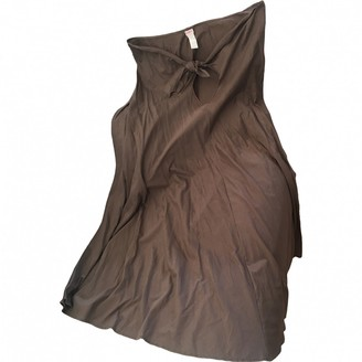 Eres Brown Cotton Swimwear for Women