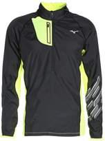 Mizuno Static Sports Jacket Black/safety Yellow