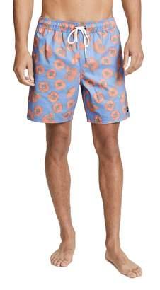 RVCA Porter Elastic Swim Shorts