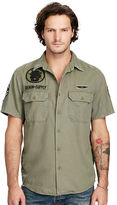 Denim & Supply Ralph Lauren Military Cotton Twill Shirt