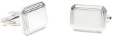 Ravi Ratan Men's Rectangular Engravable Cufflinks