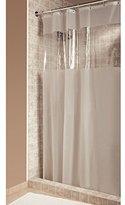 InterDesign Hitchcock Shower Curtain, Long 72 x 84, Clear