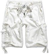 Brandit Men's Vintage Army Style Combat Premium Washed Cotton Cargo Shorts