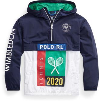Ralph Lauren Wimbledon Packable Jacket