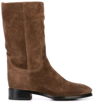 Santoni Classic Slip-On Boots