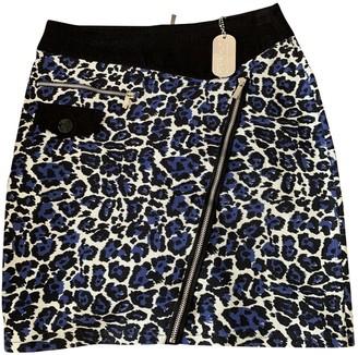 JC de CASTELBAJAC Blue Cotton Skirts