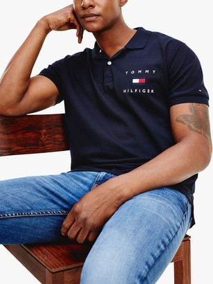 Tommy Hilfiger Logo Slim Fit Polo Shirt