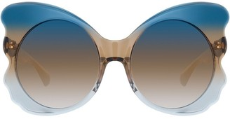 Matthew Williamson Special oversized sunglasses