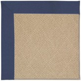 Zeppelin Machine Tufted Blue/Brown Indoor/Outdoor Area Rug Longshore Tides Rug Size: Rectangle 9' x 12'