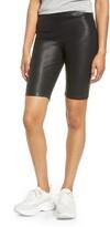 Blank NYC Blanknyc Faux Leather Biker Shorts