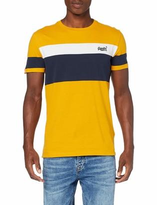 Superdry Men's Orange Label Chestband Tee T-Shirt