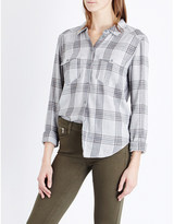 Paige Mya checked flannel shirt