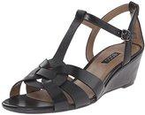 Ecco Footwear Womens Rivas 45 Wedge Dress Sandal