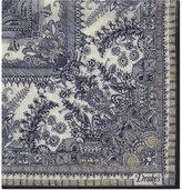 Drakes Oriental Gardens Cotton-silk Pocket Square