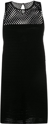 Prada Pre Owned knitted A-line dress