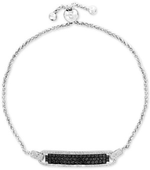 Effy Diamond Bolo Bracelet (1 ct. t.w.) in 14k White Gold