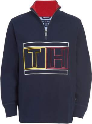 Tommy Hilfiger Boy's Bryant Cotton Half-Zip Sweatshirt