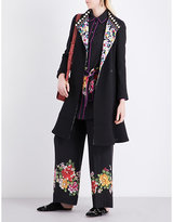 Etro Printed-lining Wool Coat