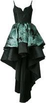 Christian Pellizzari layered high-low hem dress