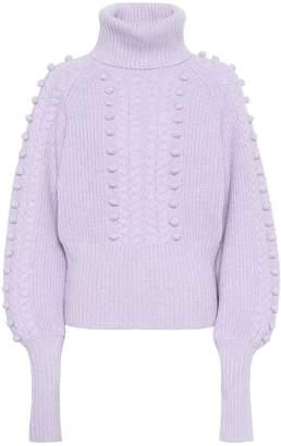Temperley London Wool turtleneck sweater