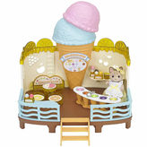 International Playthings Calico Critters Seaside Ice Cream Shop