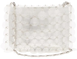 Paco Rabanne Sparkle 1969 Sequinned Shoulder Bag - Clear