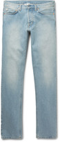 Our Legacy - Slim-fit Faded Washed-denim Jeans