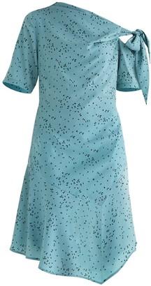 Paisie Carnaby Tie Shoulder Dress