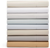 Hudson Park 600TC Sateen Solid California King Fitted Sheet