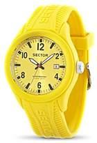 Sector Men's R3251576005 Analog Display Quartz Yellow Watch