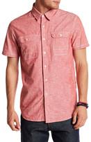 Howe Oxnard Short Sleeve Regular Fit Woven Shirt