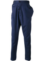 Vivienne Westwood Man - drop crotch trousers - men - Cotton/Viscose/Virgin Wool - 46