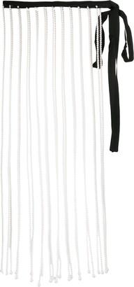 Christopher Kane Pearl Fringe Skirt
