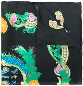 Versace printed scarf
