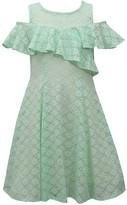 Bonnie Jean Girls 7-16 Cold-Shoulder Ruffle Dress