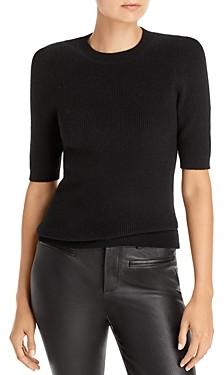 Aqua Ribbed Cashmere Sweater - 100% Exclusive