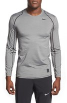 Nike Men's 'Pro Cool Compression' Fitted Long Sleeve Dri-Fit T-Shirt