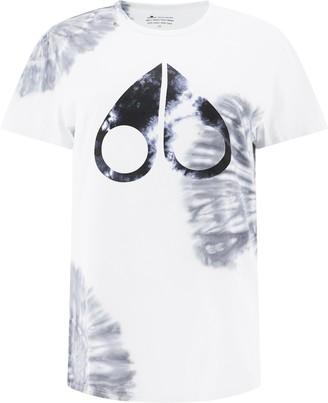 Moose Knuckles Logo Tie-Dye T-Shirt