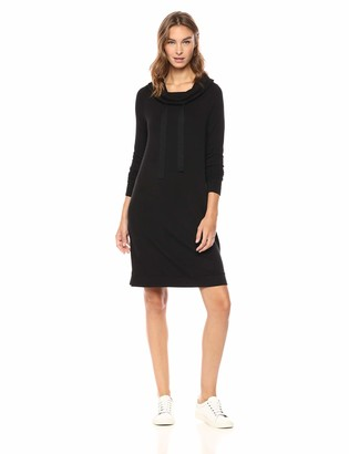 Daily Ritual Amazon Brand Women's Supersoft Terry Funnel-Neck Dress