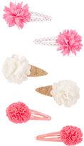 Osh Kosh 6-Pack Ice Cream Plume Snap Clips