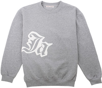 Sabrina Dehoff Grey Sweatshirt with print JA - XL / Grey Heather - Grey