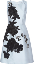 Dice Kayek Floral Embroidered Dress