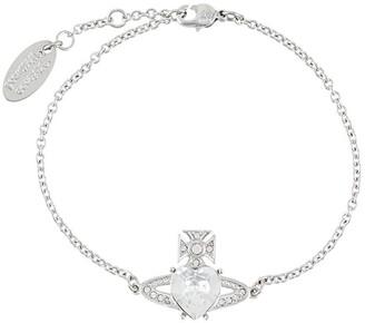 Vivienne Westwood crystal Orb bracelet