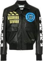 Off-White printed arrows jacket