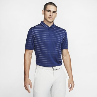 Nike Mens Golf Polo Dri-FIT Tiger Woods