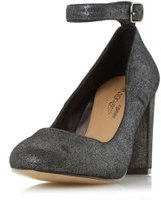 Dorothy Perkins Womens *Head Over Heels by Dune 'Ariana' Black Heeled Shoes- Black