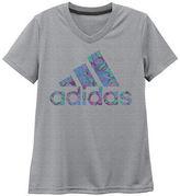 adidas Girls Short Sleeve T-Shirt-Big Kid