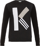 Kenzo K-intarsia wool sweater